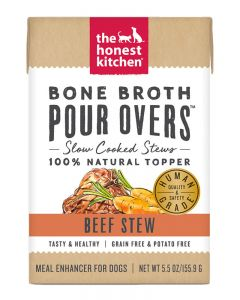 The Honest Kitchen Beef Stew Bone Broth Pour Over