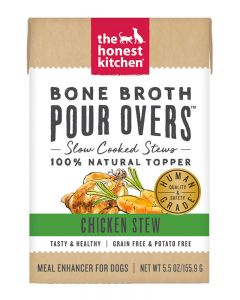 The Honest Kitchen Chicken Stew Bone Broth Pour Over