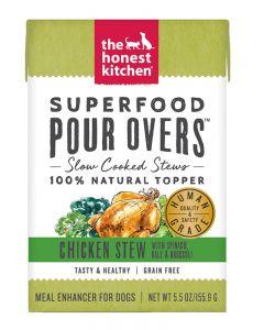 The Honest Kitchen Chicken Stew Superfood Pour Over