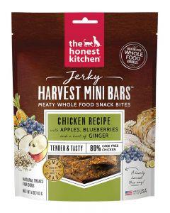 The Honest Kitchen Chicken with Apples & Blueberries Jerky Harvest Mini Bars