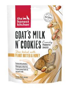 The Honest Kitchen Goat's Milk n' Cookies with Peanut Butter & Honey