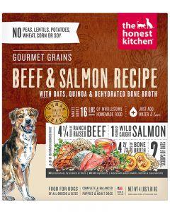 The Honest Kitchen Gourmet Grains Beef & Salmon
