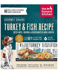 The Honest Kitchen Gourmet Grains Turkey & Fish
