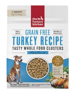 The Honest Kitchen - Grain-Free Turkey Whole Food Clusters - Dry Dog Food