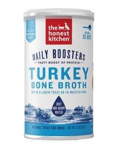 The Honest Kitchen Instant Turkey Bone Broth with Turmeric