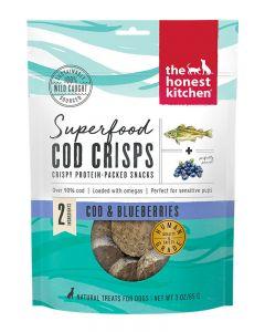 The Honest Kitchen Superfood Cod & Blueberry Crisps