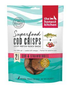 The Honest Kitchen Superfood Cod & Strawberry Crisps