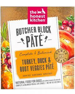 The Honest Kitchen Turkey, Duck & Root Veggies Butcher Block Paté