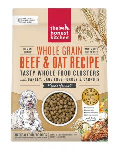 The Honest Kitchen Whole Food Clusters Whole Grain Beef & Oat with Turkey Recipe Dry Dog Food
