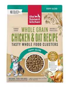 The Honest Kitchen Whole Grain Chicken & Oat Whole Food Clusters for Puppies