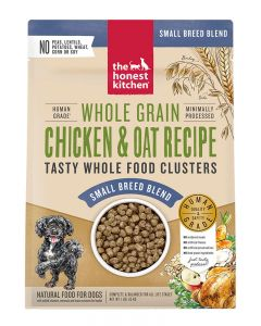 The Honest Kitchen Whole Grain Chicken & Oat Whole Food Clusters for Small Breeds