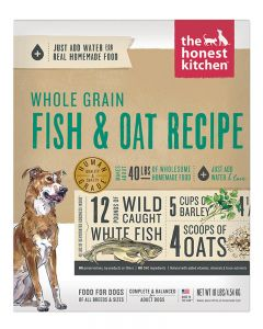The Honest Kitchen Whole Grain Fish & Oat Recipe