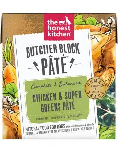 The Honest Kitchen Chicken & Super Greens Butcher Block Paté
