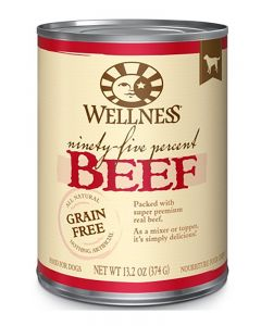 Wellness Pet Food 95% Beef Canned Dog Food