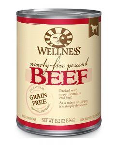 Wellness Pet Food 95% Beef Canned Dog Food