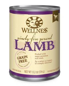 Wellness Pet Food 95% Lamb Canned Dog Food