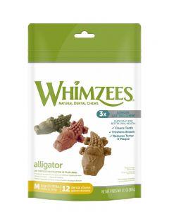 Whimzees Alligator All Natural Dental Dog Treats