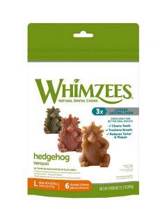 Whimzees Hedgehog All Natural Dental Dog Treats