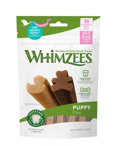 Whimzees Puppy All Natural Dental Dog Treats