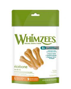 Whimzees Rice Bones All Natural Dental Dog Treats