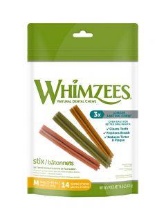Whimzees Stix All Natural Dental Dog Treats