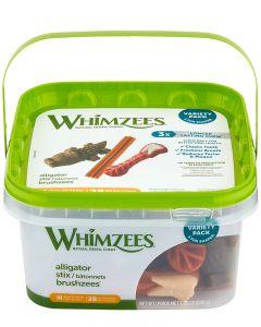Whimzees Variety Pack All Natural Dental Dog Treats