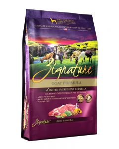 Zignature Goat Formula Limited Ingredient Dry Dog Food