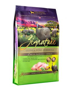Zignature Guinea Fowl Formula Limited Ingredient Dry Dog Food