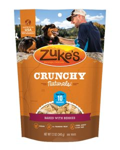 Zuke's Crunchy Naturals 10s Baked with Berries Dog Treats