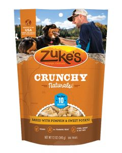 Zuke's Crunchy Naturals 10s Baked with Pumpkin & Sweet Potato Dog Treats
