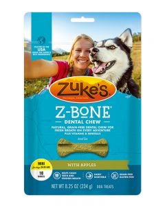 Zuke's - Z Bones - Apple  Dental Treats