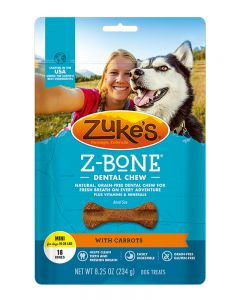 Zuke's - Z Bones - Carrot - Dental Treats