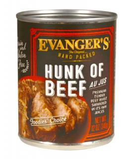 Evanger's Hand Packed Specialties Hunk of Beef Dinner Canned Dog Food