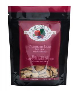 Fromm Family Foods Four Star Cranberry Liver Recipe 2 Calorie Dog Treats